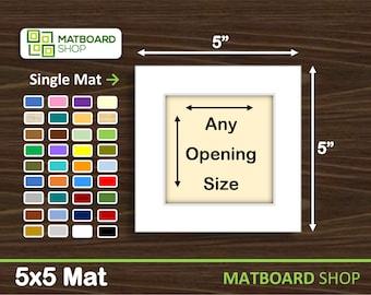 5x5 Premium Matboard