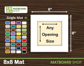 8x8 Premium Matboard