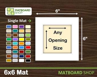 6x6 Premium Matboard