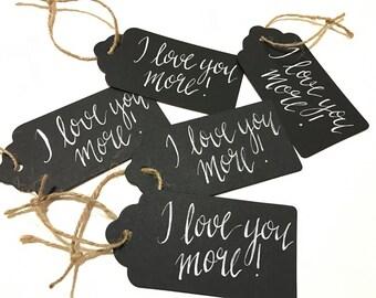 Custom Calligraphy Gift Tags