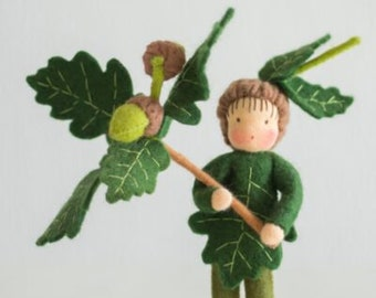 Tree children: the Oak , a homemade package