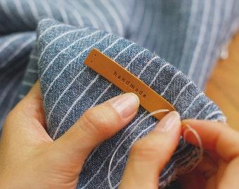 Dailylike Sew-on Leather Label : Handmade Tag
