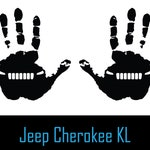 Set of 2 Hand Wave Vinyl Decal Sticker Left and Right for Jeep Cherokee KL Mirror Window Accessory