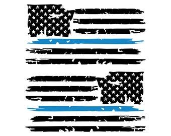 US Flag United States American Flag USA Car Decal Vinyl Sticker Distressed