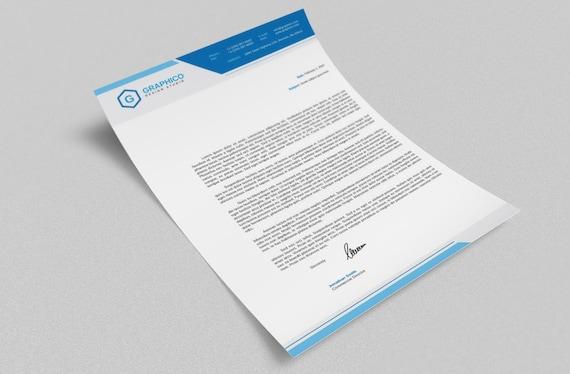 Plantilla de diseño de papelería corporativa Adobe