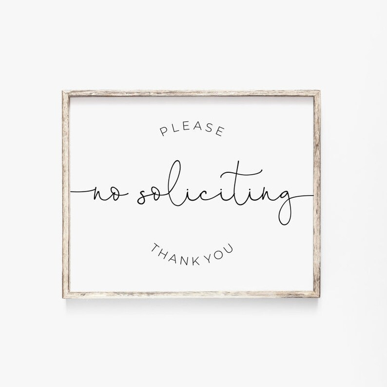 graphic about No Soliciting Printable referred to as Be sure to No Soliciting Thank Your self Printable, Entrance Doorway Signal, No Solicitors Print, Do Not Ring Porch Print, Immediate Electronic Down load, 8x10