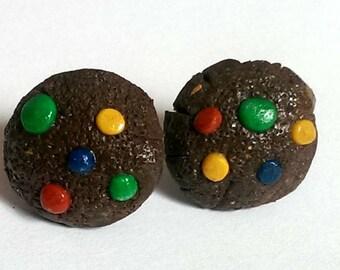 Cookie earrings - Food Jewelry -Surgical Steel earrings for girls
