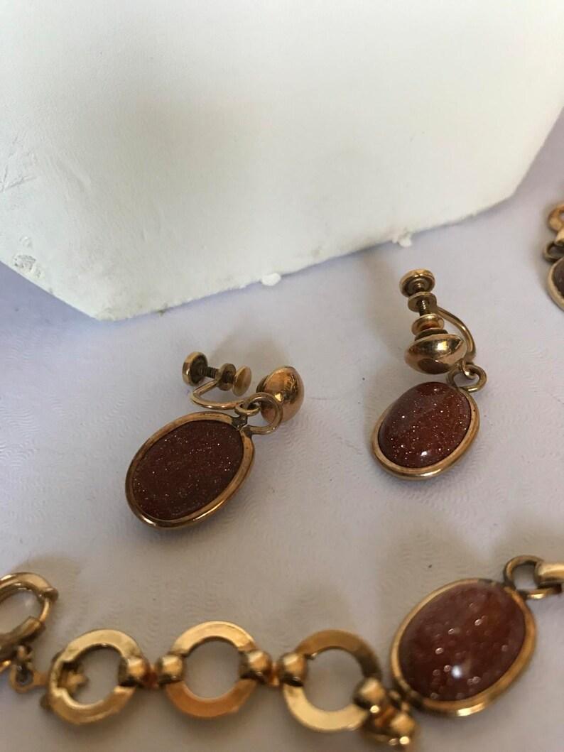 Gorgeous gold filled vintage set