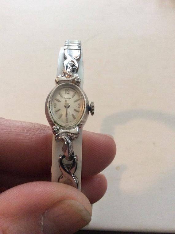 Bulova wind wrist watch