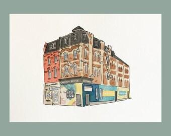 Cameron House Print