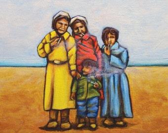 Art card - Smokin' Kids