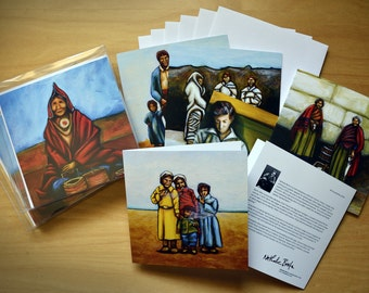 Art cards - package of 6
