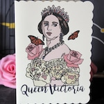 Queen Victoria Greetings card