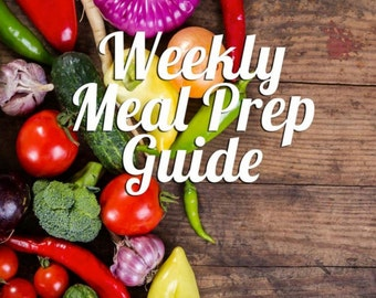Healthy Weekly Meal Prep
