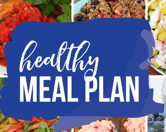 Healthy Meal Plan 2017 eBook | 28 Day Meal Plan PLUS More Than 100 Recipes!