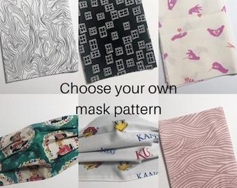 Masks; Adult & Child Sizes; Surgical Masks, PPE, Masks, Made to Order