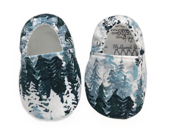 Winter Forest Moccasins