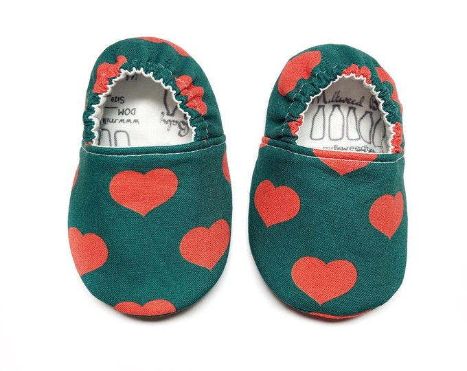 Christmas Soft Sole Baby Shoes, Toddler Shoes