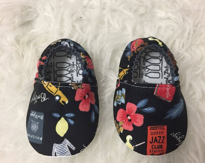 Vacation Moccasins, Rifle Paper Co