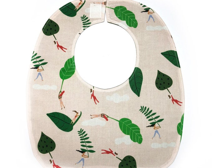 Reversible Bib, Baby Shower Gift, Practical Baby Gift, New Mom Gift, Unique Baby Gift, Easily Fits Newborn to Toddler, Machine Wash & Dry