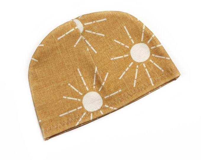 Sunshine organic baby hat