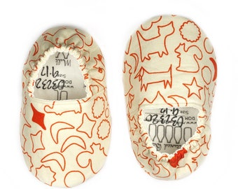 9-12mo RTS Cookie Cutter Shoes