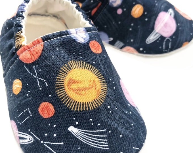 Galaxy Moccasins, Outer Space, Planets, Solar System, Astronomy, Stars, Sun, Moon