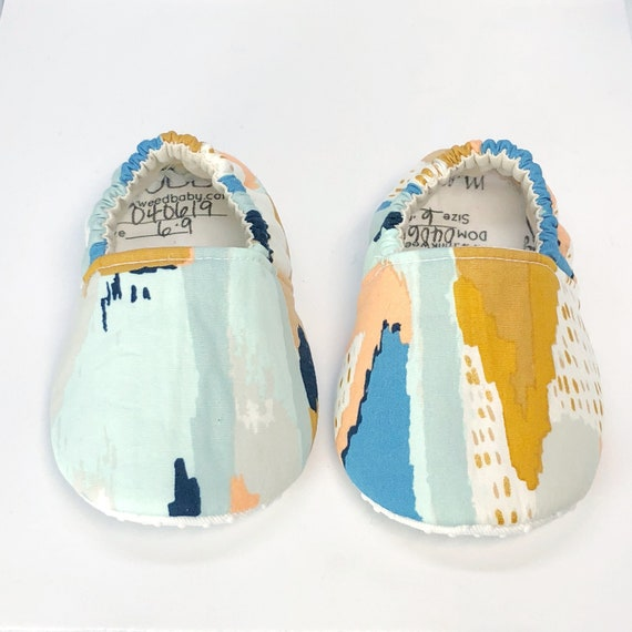Soft Sole Baby Shoes Water Color