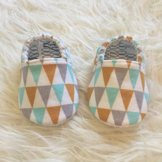 Baby Moccs: Organic Flannel Bunting