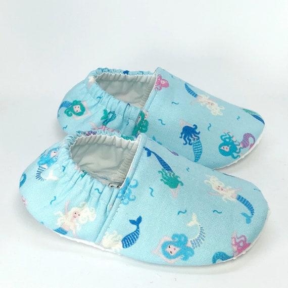 mermaid baby shoes