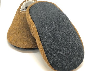 Natural Crepe Rubber Sole Add-On, Not for Individual Sale, Must be Purchased with Made to Order Moccs