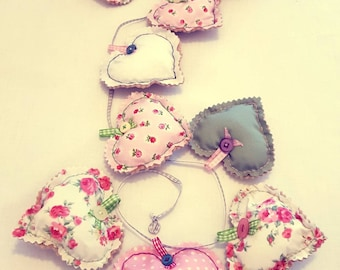 Floral Hearts Garland