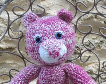 Teddy bear Teddy crochet (amigurumi)