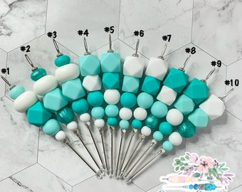 """5"""" Turquoise Collection, Cookie Scribe, Scribe Tool, Pink Scribe, Silicone Scribe, Cookie Tool, Cookie Scribe"""