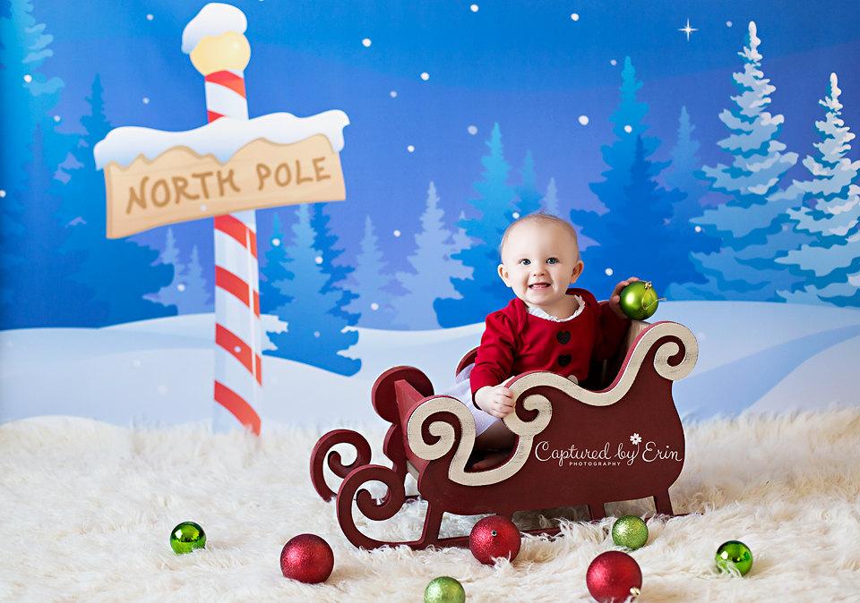 Nordpol-Fotografie Kulisse Weihnachten Hintergrund Urlaub | Etsy