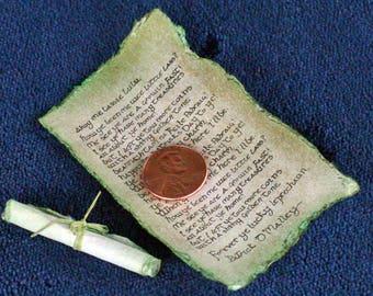 Fully Customized Leprechaun Letter