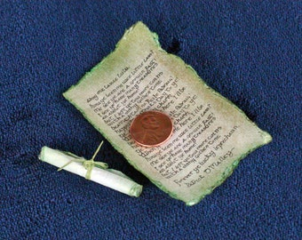 Personalized Leprechaun Letter for St. Patrick's Day - handwritten and miniature