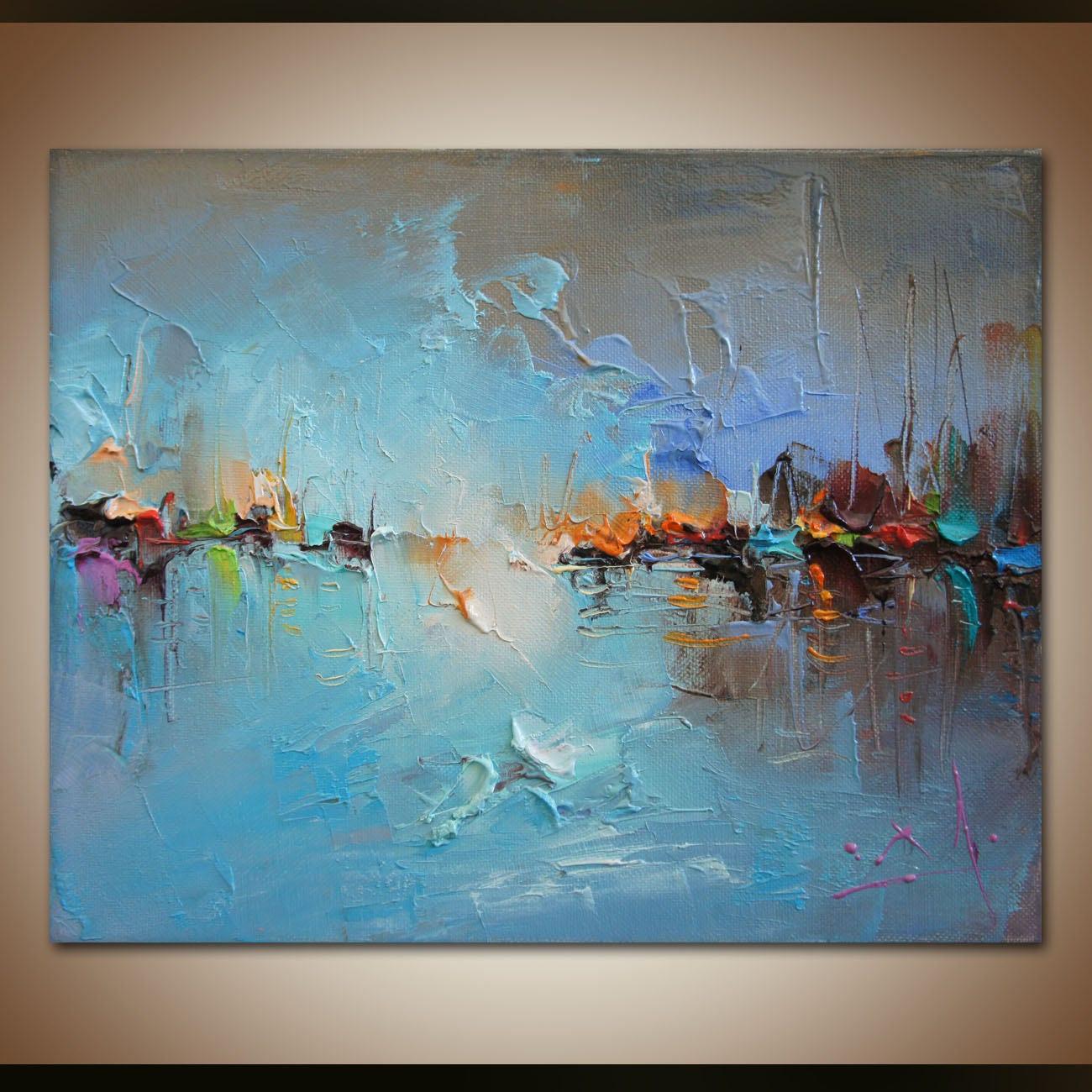 Abstrakte Malerei zeitgenössische Malerei abstrakte Kunst | Etsy