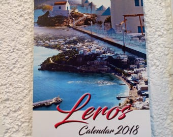 Leros Greece Calendar 2018