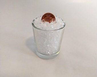 FREE SHIPPING - Clear Virgin EVA Poly Pellets for Aroma beads