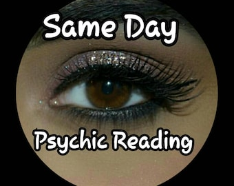 Same Day Psychic 4 Question Reading experienced Psychic Medium, accurate, reliable, fast