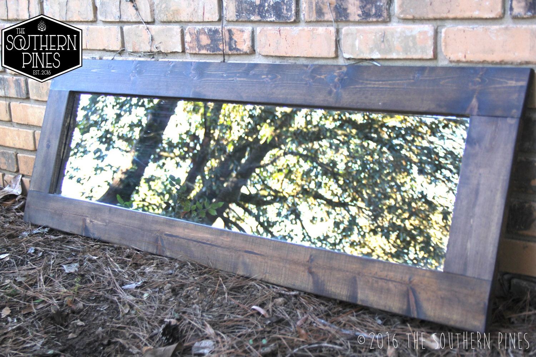 Large Farmhouse Mirror Wall Mirror Vintage Mirror Modern