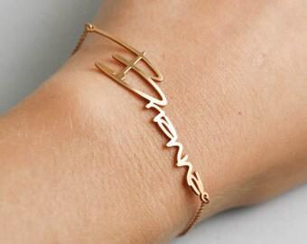 Name Bracelet, Baby Name Bracelet, Personalized Bracelet, Child Name Bracelet, Kids Name Bracelet, Personalized Gift, Gift For Her, SB0181