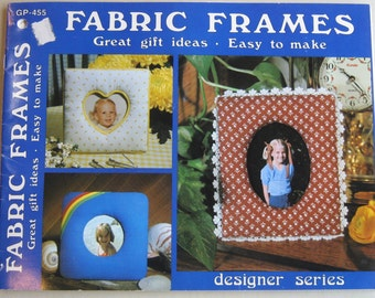Fabric Frames, make your own frames, frames for photos, do it yourself fabric frames