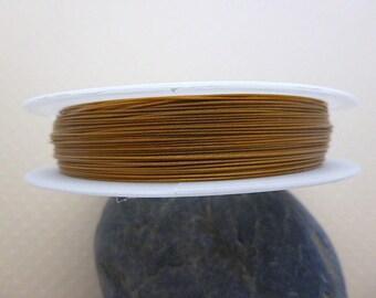 50 m wire Dark Goldenrod - FCB 0760