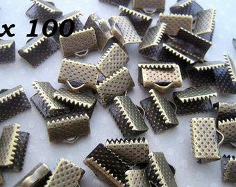 100 ends to tighten 10mm bronze - L100318