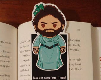 The Bearded Lady Bookmark