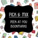 Vivian Rodriguez reviewed Pick and Mix- Peek at You Regular Bookmarks