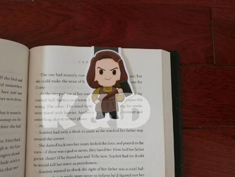 Magentic Bookmark-Number One Fan image 0
