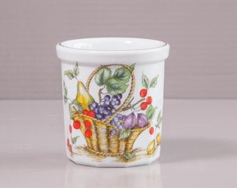 French Jam Jar | Porcelain Jelly Jar | Pillivuyt Jam Pot | French Farmhouse Confiture | Porcelain Pot | French Country Kitchen | French Jar